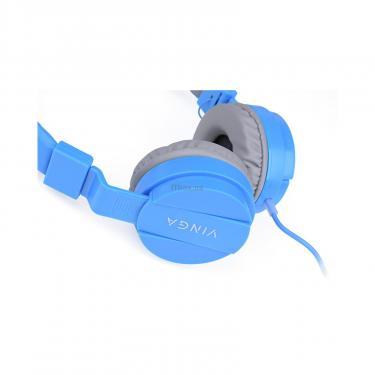 Навушники Vinga HSM035 Blue New Mobile (HSM035BL) - фото 10