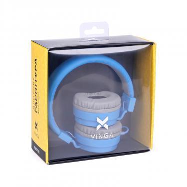 Навушники Vinga HSM035 Blue New Mobile (HSM035BL) - фото 12