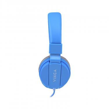 Навушники Vinga HSM035 Blue New Mobile (HSM035BL) - фото 3