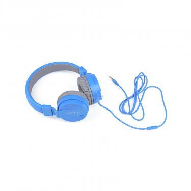 Навушники Vinga HSM035 Blue New Mobile (HSM035BL) - фото 4