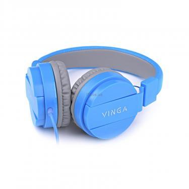 Навушники Vinga HSM035 Blue New Mobile (HSM035BL) - фото 8