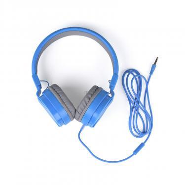 Навушники Vinga HSM035 Blue New Mobile (HSM035BL) - фото 9
