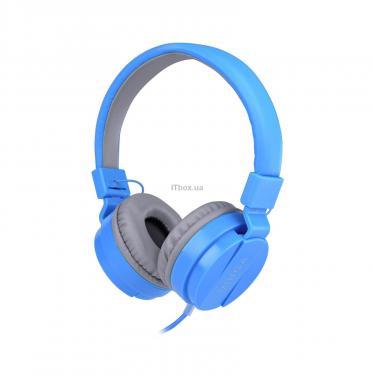Навушники Vinga HSM035 Blue New Mobile (HSM035BL) - фото 1
