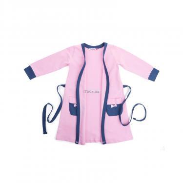 """Пижама Matilda и халат с мишками """"Love"""" (7445-164G-pink) - фото 4"""