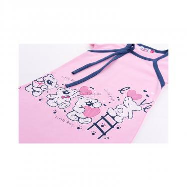 """Пижама Matilda и халат с мишками """"Love"""" (7445-164G-pink) - фото 8"""