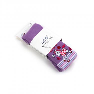 Колготки UCS SOCKS с пони (M0C0301-0860-98G-purple) - фото 4