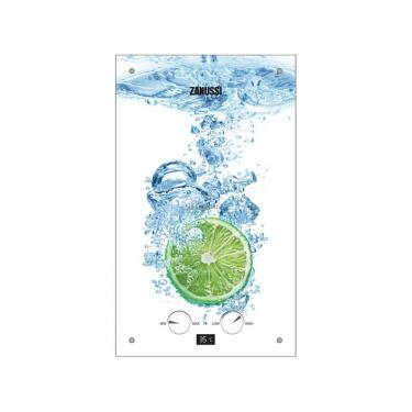 Проточний водонагрівач ZANUSSI GWH 10 Fonte Glass Glass Lime (GWH10FONTEGLASSLIME) - фото 1