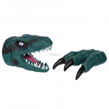 Игровой набор Same Toy Dino Animal Gloves Toys зеленый Фото 1