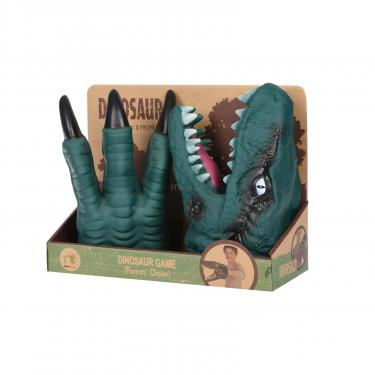 Игровой набор Same Toy Dino Animal Gloves Toys зеленый Фото