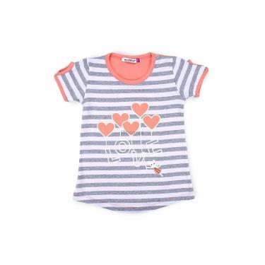 "Пижама Matilda ""LOVE"" (8016-2-92G-coral) - фото 2"