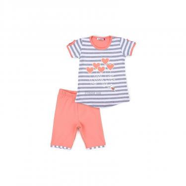 "Пижама Matilda ""LOVE"" (8016-2-92G-coral) - фото 1"