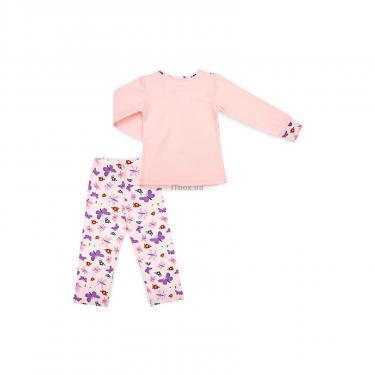 Пижама Matilda с бабочками (4858-2-104G-pink) - фото 4
