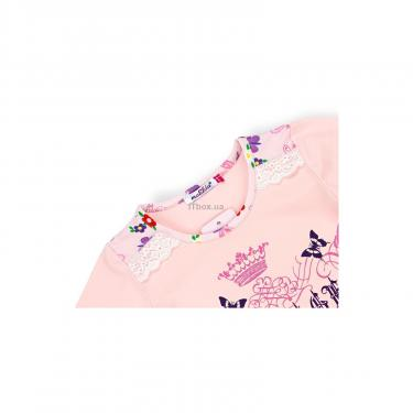 Пижама Matilda с бабочками (4858-2-104G-pink) - фото 7