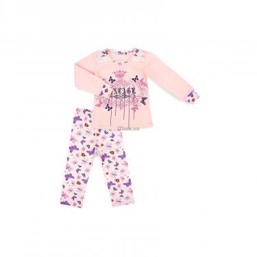Пижама Matilda с бабочками (4858-2-104G-pink) - фото 1