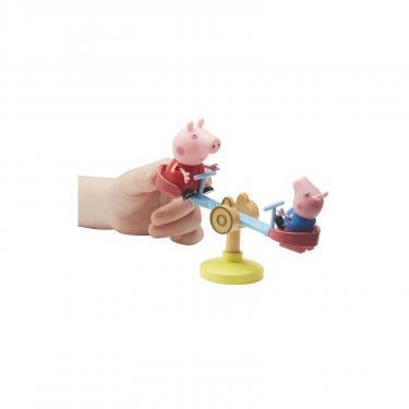 Игровой набор Peppa ДОМ ПЕППЫ С ЛУЖАЙКОЙ (домик с аксессуарами, 2 фигу Фото 4