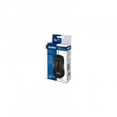 Мышка Sven RX-110 USB black Фото 3