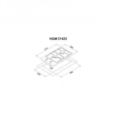 Варочная поверхность PERFELLI HGM 31423 I - фото 6