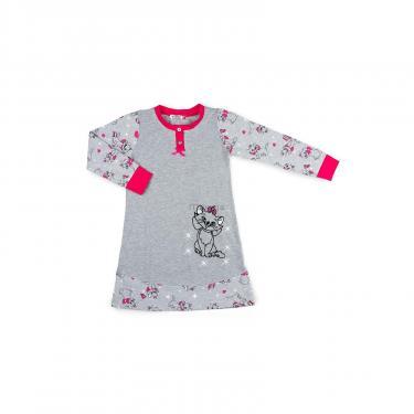Пижама Matilda с котом (7364-122G-gray) - фото 1
