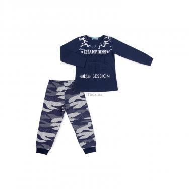 """Пижама Matilda """"CHAMPIONS"""" (9007-152B-blue) - фото 1"""