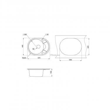 Мойка кухонная Minola MOG 1145-58 Классик Фото 1