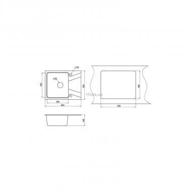 Мойка кухонная Minola MPG 1140-62 Песок Фото 1