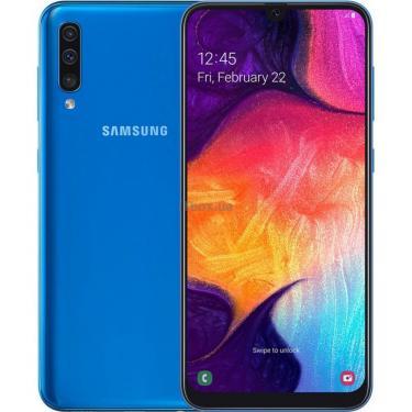 Мобильный телефон Samsung SM-A505FM (Galaxy A50 128Gb) Blue (SM-A505FZBQSEK) - фото 1