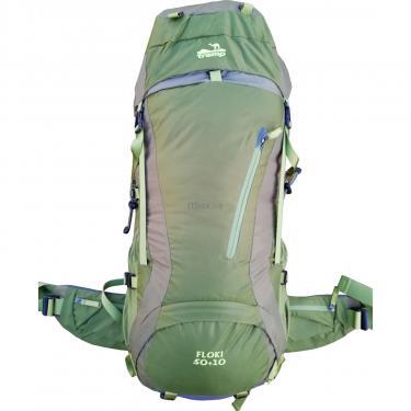 Рюкзак Tramp Floki 50+10 зеленый (TRP-046-green) - фото 1