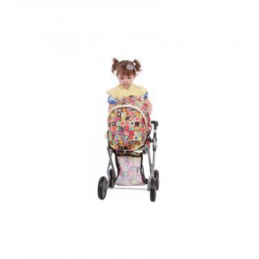Коляска для кукол Todsy Mary 2 в 1 с люлькой для куклы. цветная Фото 3