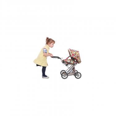 Коляска для кукол Todsy Mary 2 в 1 с люлькой для куклы. цветная Фото 4