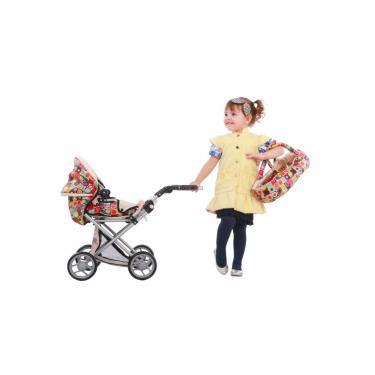 Коляска для кукол Todsy Mary 2 в 1 с люлькой для куклы. цветная Фото 6