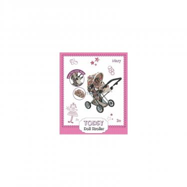 Коляска для кукол Todsy Mary 2 в 1 с люлькой для куклы. цветная Фото 7