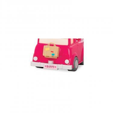 Игровой набор Li'l Woodzeez Розовая машина с чемоданом Фото 2