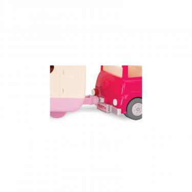 Игровой набор Li'l Woodzeez Розовая машина с чемоданом Фото 4