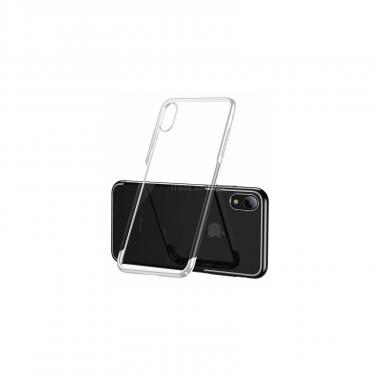 Чехол для моб. телефона Baseus iPhone XR Glitter, White (WIAPIPH61-DW02) - фото 2