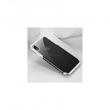 Чехол для моб. телефона Baseus iPhone XR Glitter, White (WIAPIPH61-DW02) - фото 4