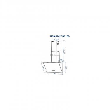 Витяжка кухонна Minola HDN 6242 WH 700 LED - фото 12