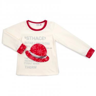 Пижама Matilda флисовая со шляпкой (9110-3-116G-red) - фото 2