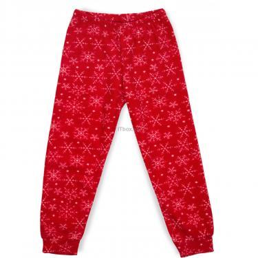 Пижама Matilda флисовая со шляпкой (9110-3-116G-red) - фото 3