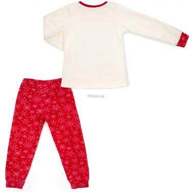 Пижама Matilda флисовая со шляпкой (9110-3-116G-red) - фото 4