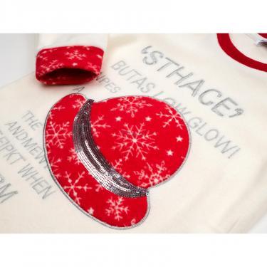 Пижама Matilda флисовая со шляпкой (9110-3-116G-red) - фото 7