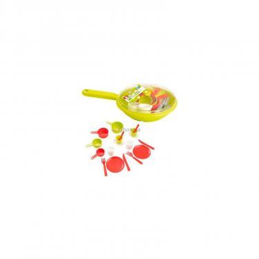Игровой набор Ecoiffier посуды в сковороде Фото