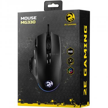 Мышка 2E MG330 RGB USB Black Фото 3