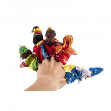Игровой набор Goki Кукла для пальчикового театра Девочка Фото 3