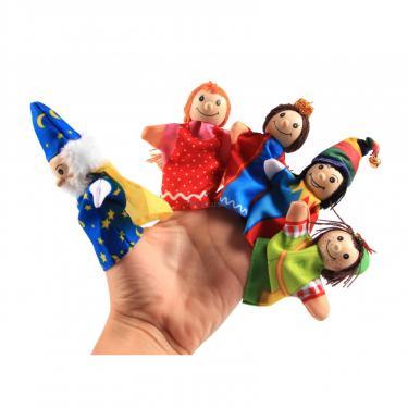 Игровой набор Goki Кукла для пальчикового театра Девочка Фото 4