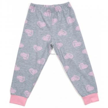 Пижама Matilda с сердечками (12101-2-128G-pink) - фото 3
