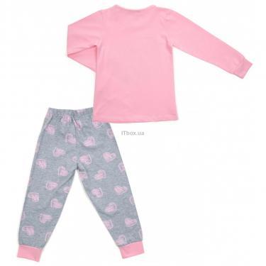 Пижама Matilda с сердечками (12101-2-128G-pink) - фото 4