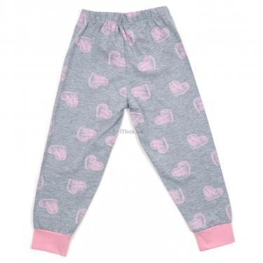 Пижама Matilda с сердечками (12101-2-128G-pink) - фото 6