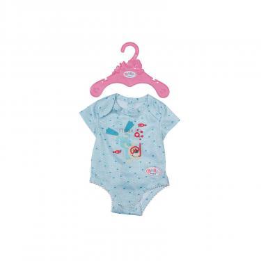 Аксессуар к кукле Zapf Baby Born Боди S2 Голубое Фото 1
