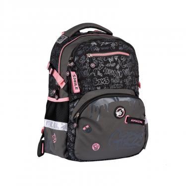 Рюкзак школьный Yes T-117 Cool girls черный Фото