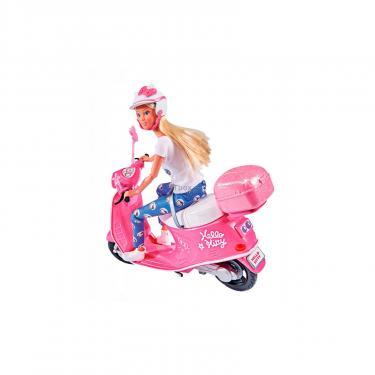 Кукла Simba Штеффи Прогулка на скутере с аксессуарами Фото 3